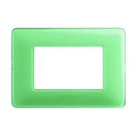 Placca Matix - AM4804CVC - placca 4P tè verde