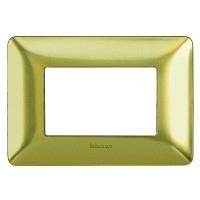 Placca Matix - AM4806GOS - placca 6P oro satinato