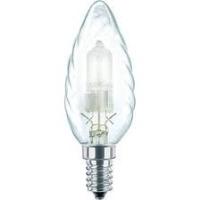 lampadina alogena 42W E14 tortiglione wiva